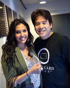 Vanessa Laine Bryant and Lotay Yang in Santa Barbara, California