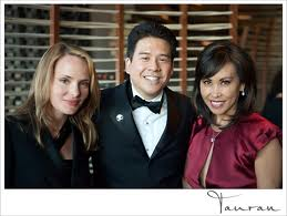 Photo at the Ritz-Carlton Downtown, Los Angeles with Fox 11 News anchorwoman Susan Hirasuna and guest