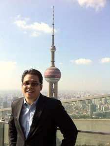 At the top of the Ritz-Carlton, Shanghai Pudong